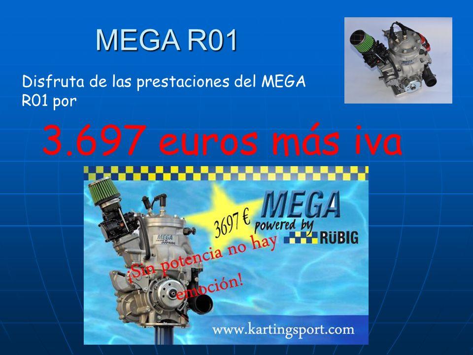 Disfruta de las prestaciones del MEGA R01 por 3.697 euros más iva