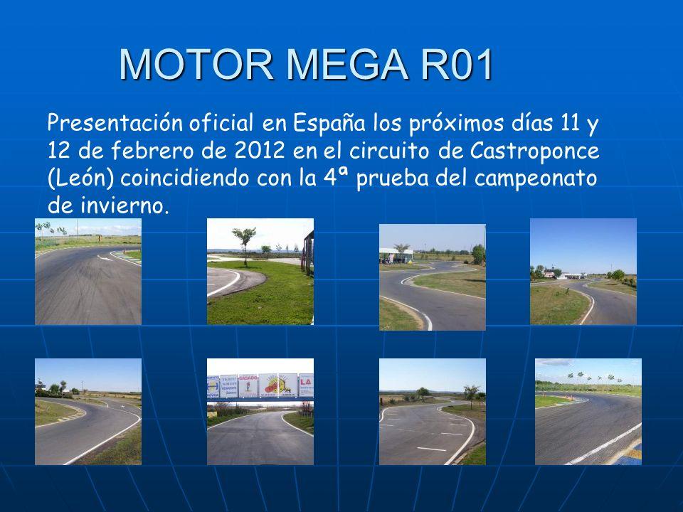 Presentación oficial en España los próximos días 11 y 12 de febrero de 2012 en el circuito de Castroponce (León) coincidiendo con la 4ª prueba del campeonato de invierno.