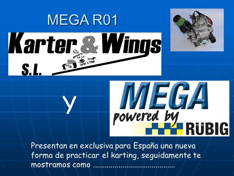 MEGA R01 Y Presentan en exclusiva para España una nueva forma de practicar el karting, seguidamente te mostramos como..........................................