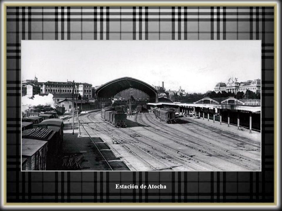 Estación de Atocha desde el aire