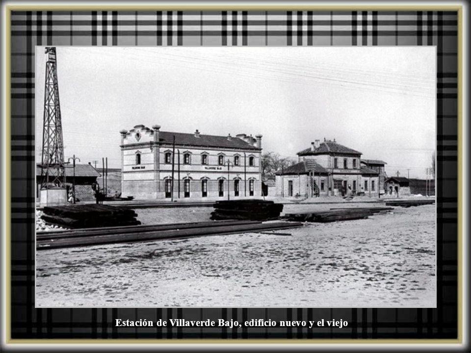 Estación de Villaverde Bajo, destrozos por los bombardeos de la guerra civil. Septiembre 1936
