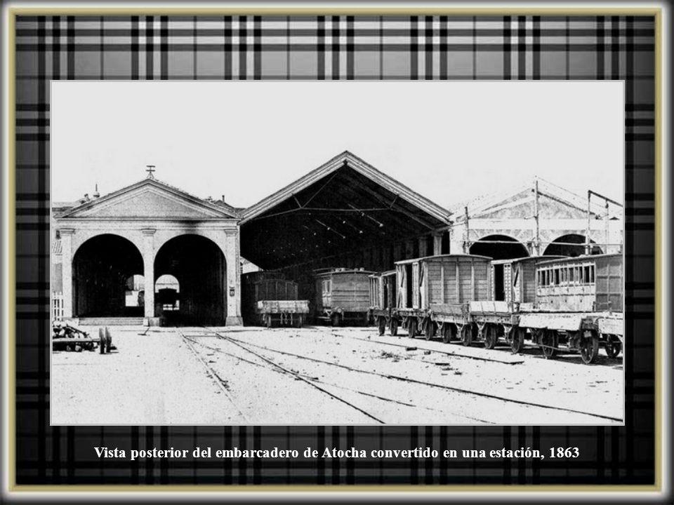 Estación de Atocha, 1910