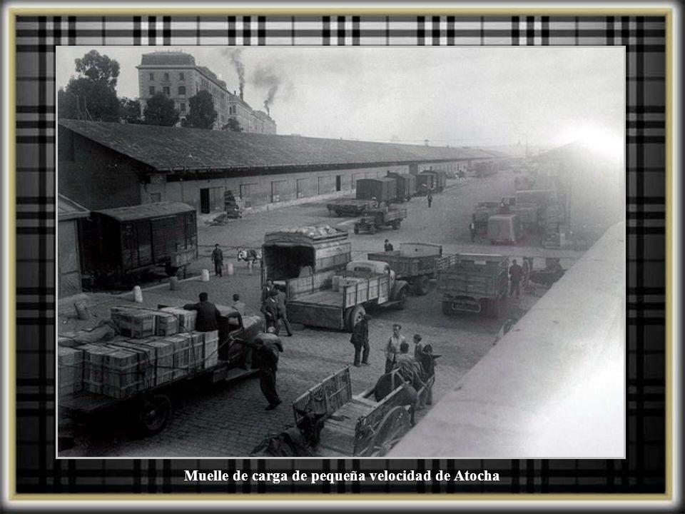 Talleres generales de estación de Atocha, 1914