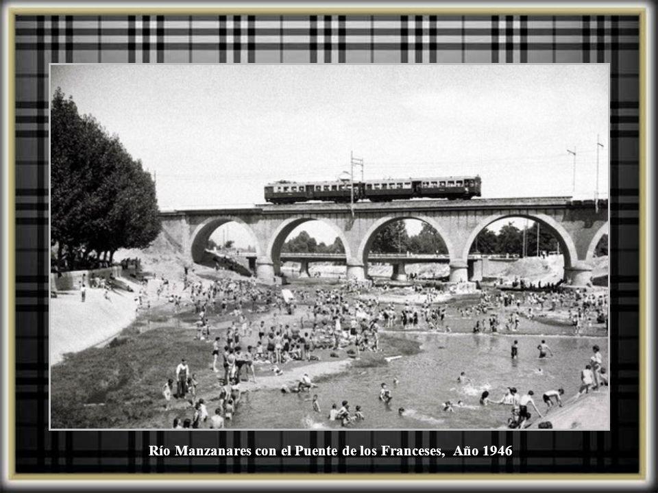 Río Manzanares, piscina La Isla, 1931