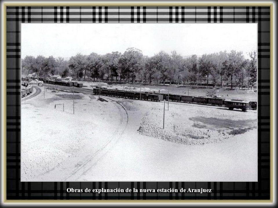 Antiguo embarcadero de Aranjuez construido junto al Palacio Real