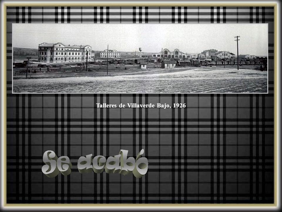 15 noviembre 1942, vista del tren articulado construído por técnicos españoles.