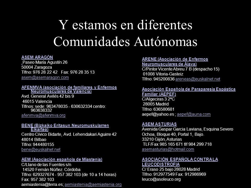 Federación ASEM C/Jordi De Sant Jordi, 26-28 bajos, 08027 - Barcelona Tel. 934516544, Fax 934516904 asem15@suport.org asem15@suport.org http://www.ase