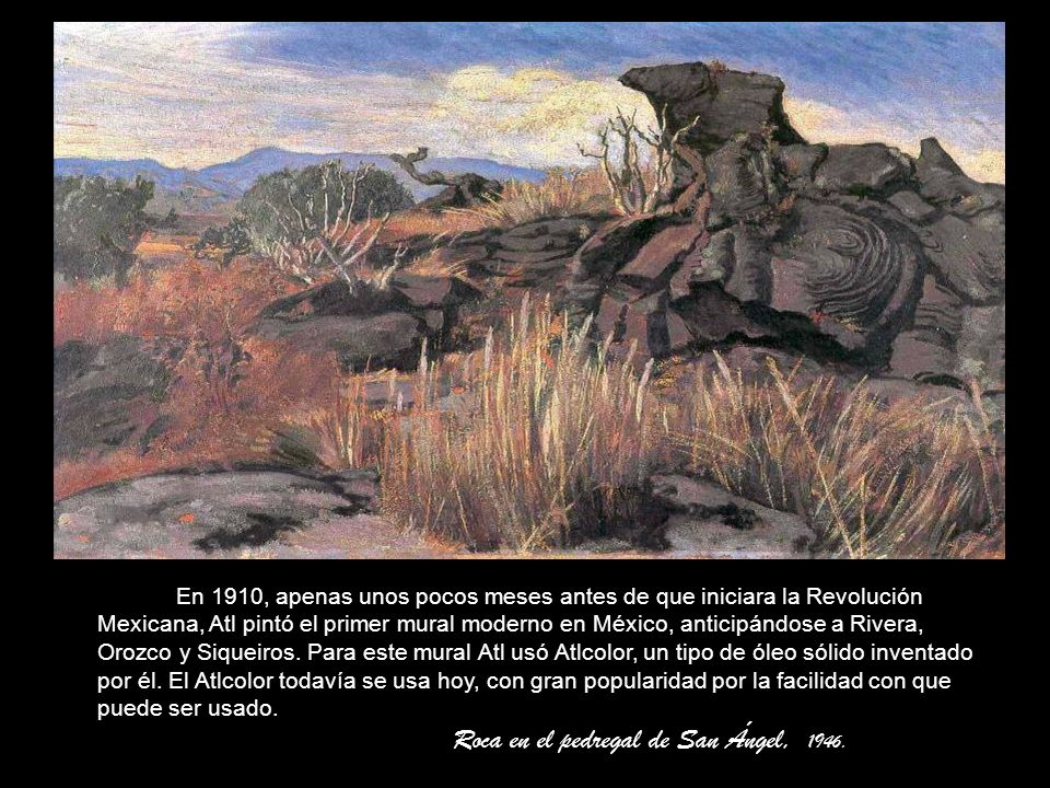 Paisaje de la Sierra de Santa Catarina, 1942.