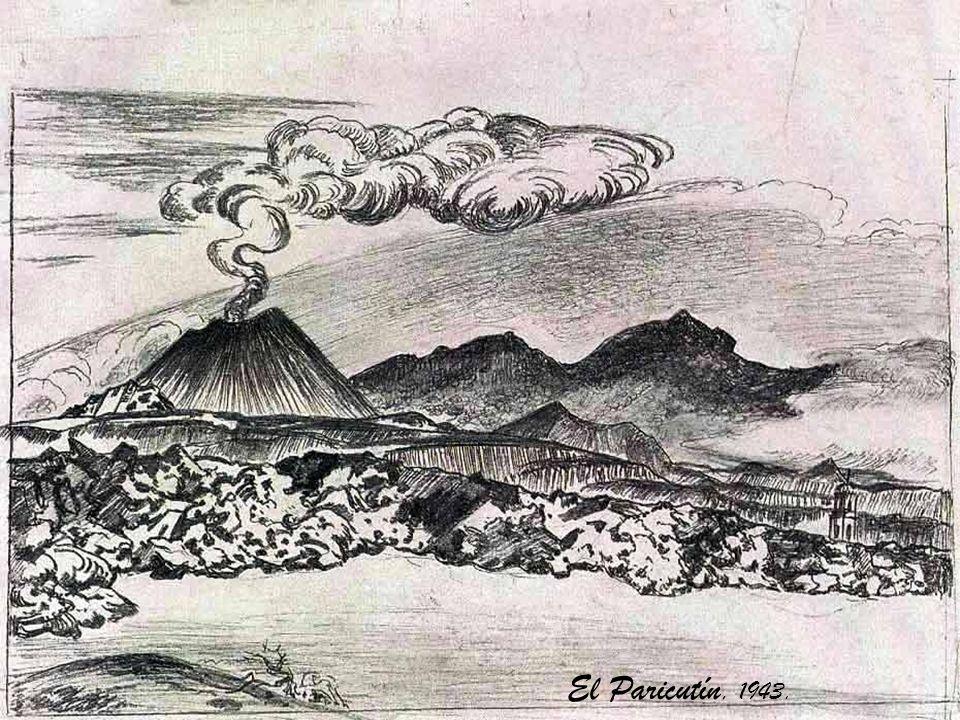 En 1910, apenas unos pocos meses antes de que iniciara la Revolución Mexicana, Atl pintó el primer mural moderno en México, anticipándose a Rivera, Or