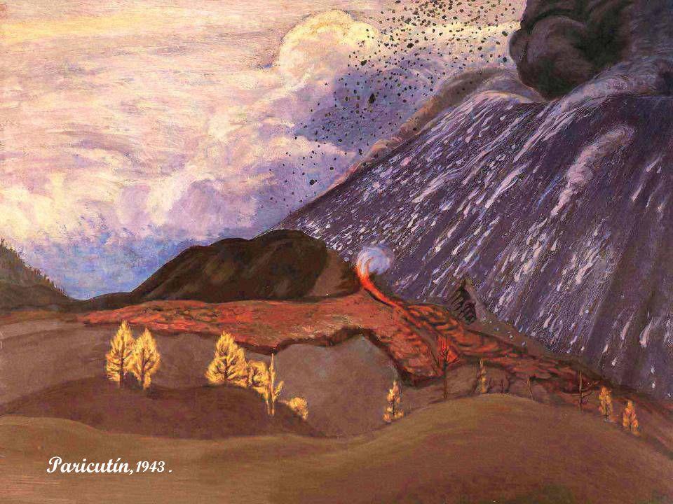 Arroyo y cráter, s/f.