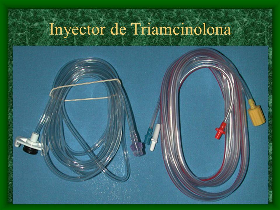 Inyector de Triamcinolona