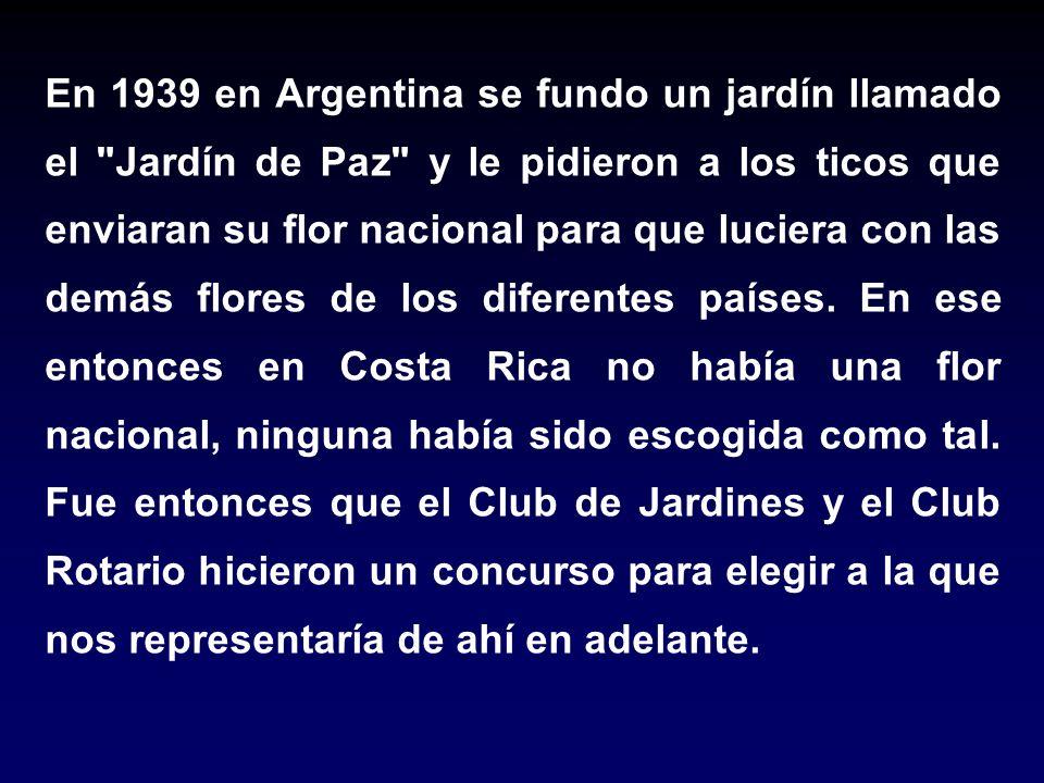 En 1939 en Argentina se fundo un jardín llamado el