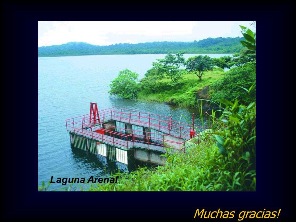Laguna Arenal Muchas gracias!