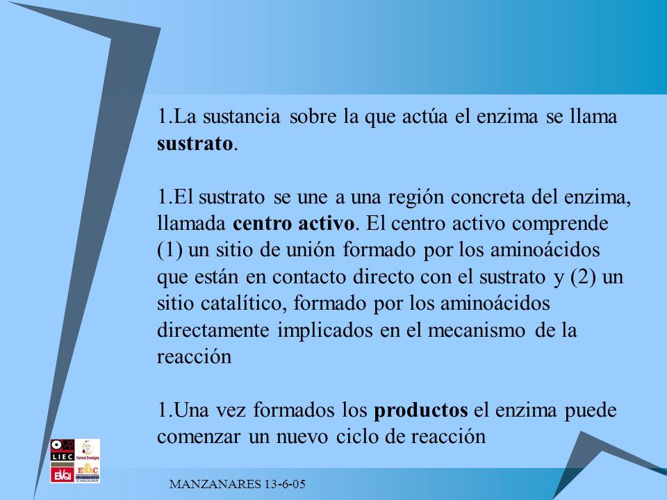 MANZANARES 13-6-05 FACTORES DE FUNCIONAMIENTO - pH