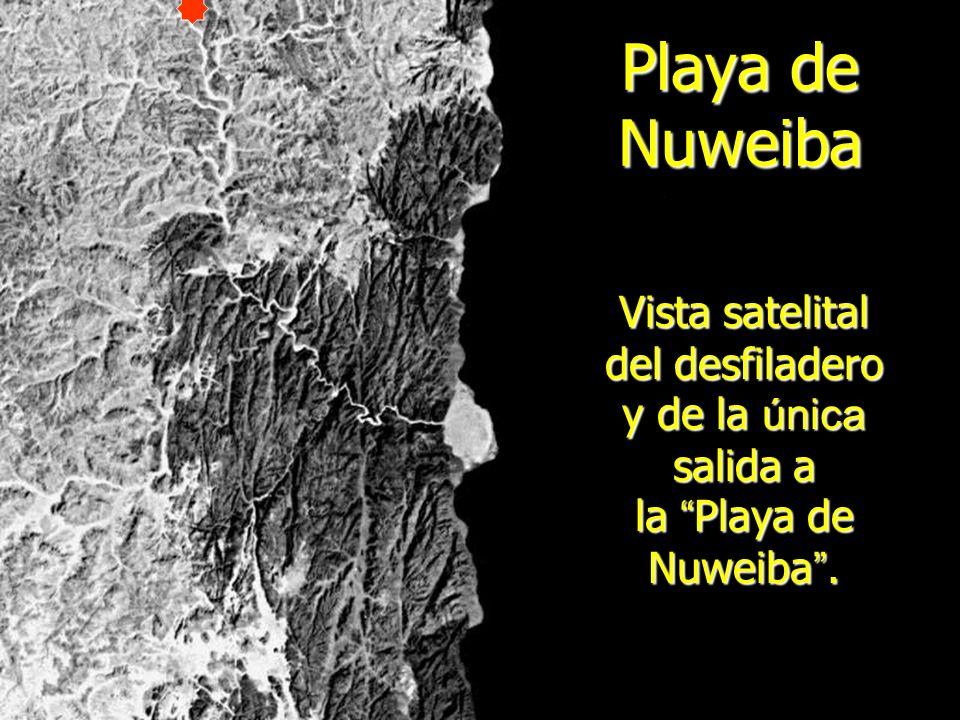 RUTA DEL ÉXODO El Éxodo comenzó en Goshen vía Sucot y llegaron a la playa de Nuweiba y llegaron a la playa de Nuweiba Goshen c o n t i n u a r o n v a d e a n d o hasta el desfiladero Nuweiba h a s t a e l d e s f i l a d e r o N u w e i b a Desfiladero Playa NUWEIBA