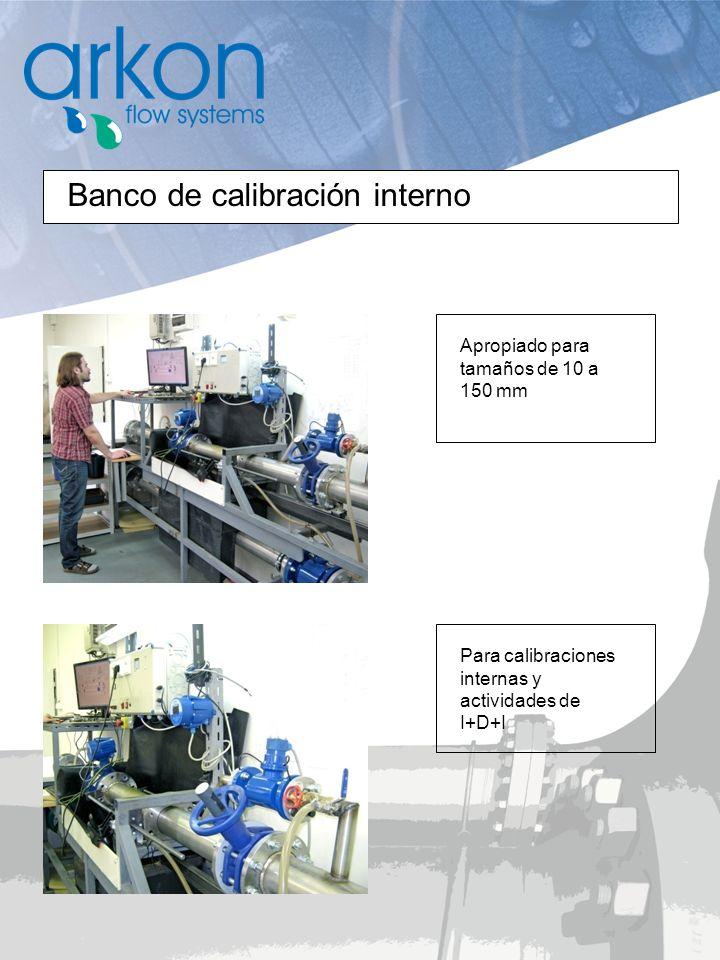 Banco de calibración interno Apropiado para tamaños de 10 a 150 mm Para calibraciones internas y actividades de I+D+I