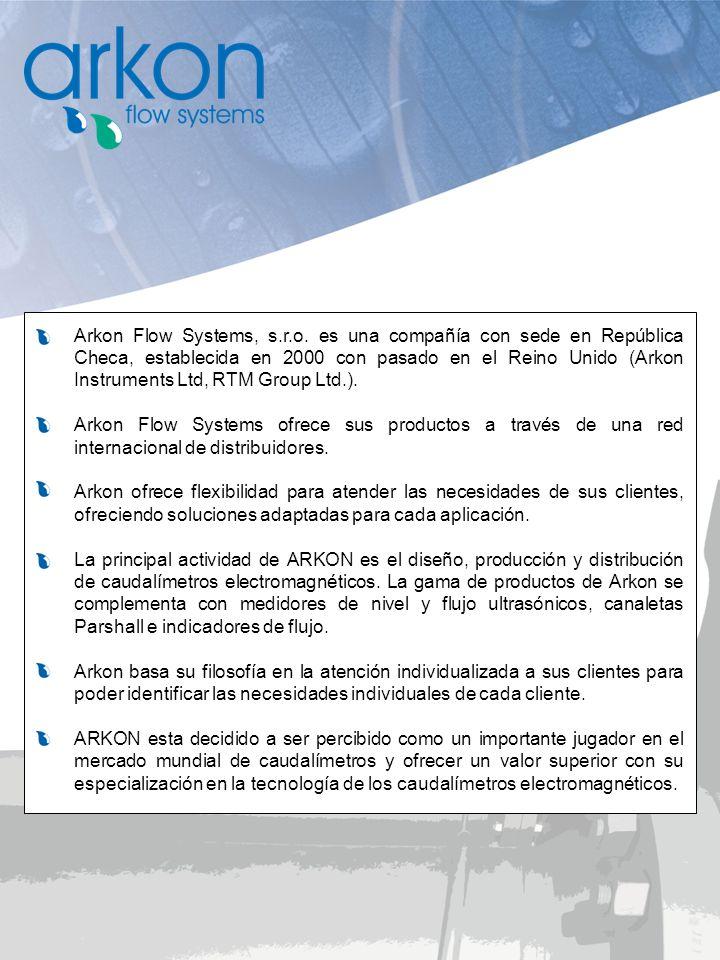 Arkon Flow Systems, s.r.o. es una compañía con sede en República Checa, establecida en 2000 con pasado en el Reino Unido (Arkon Instruments Ltd, RTM G