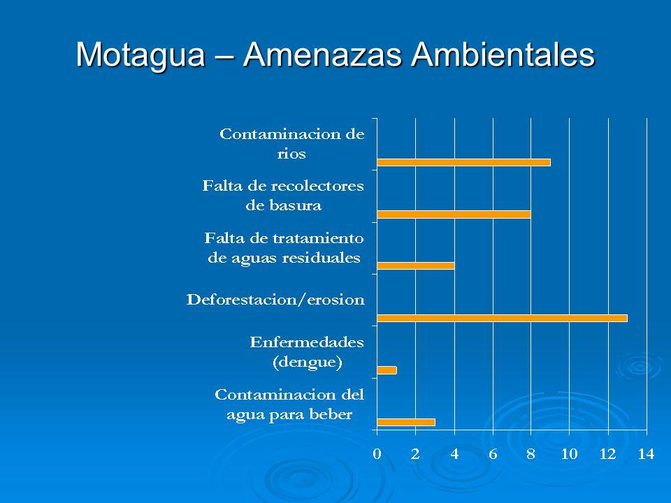 Motagua – Amenazas Ambientales