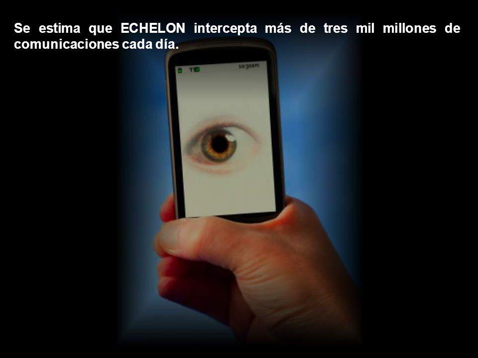 ECHELON es la mayor red de espionaje y análisis para interceptar comunicaciones electrónicas de la historia.