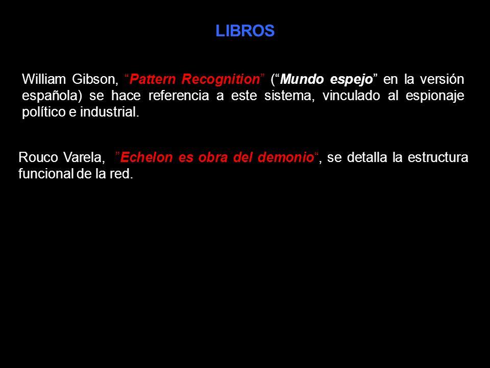 LIBROS Clive Cussler: La piedra sagrada también se hace referencia en varias páginas al sistema de control de comunicaciones ECHELON.