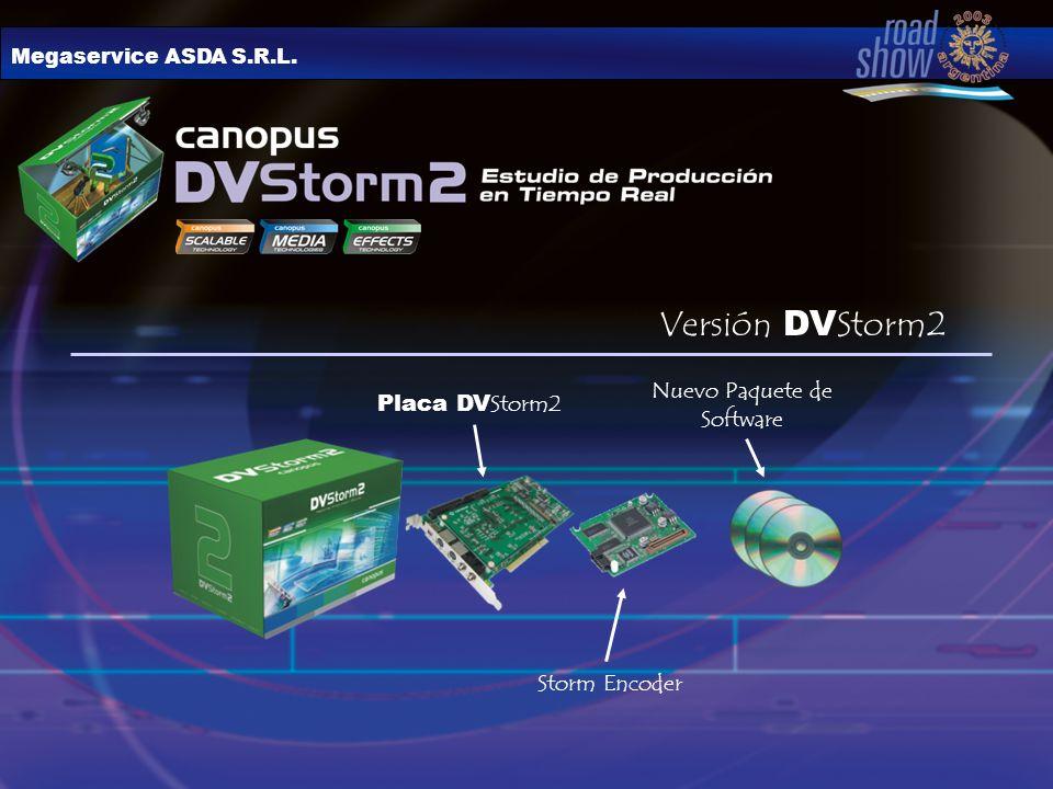 Placa DV Storm2 Storm Encoder Nuevo Paquete de Software Versión DV Storm2