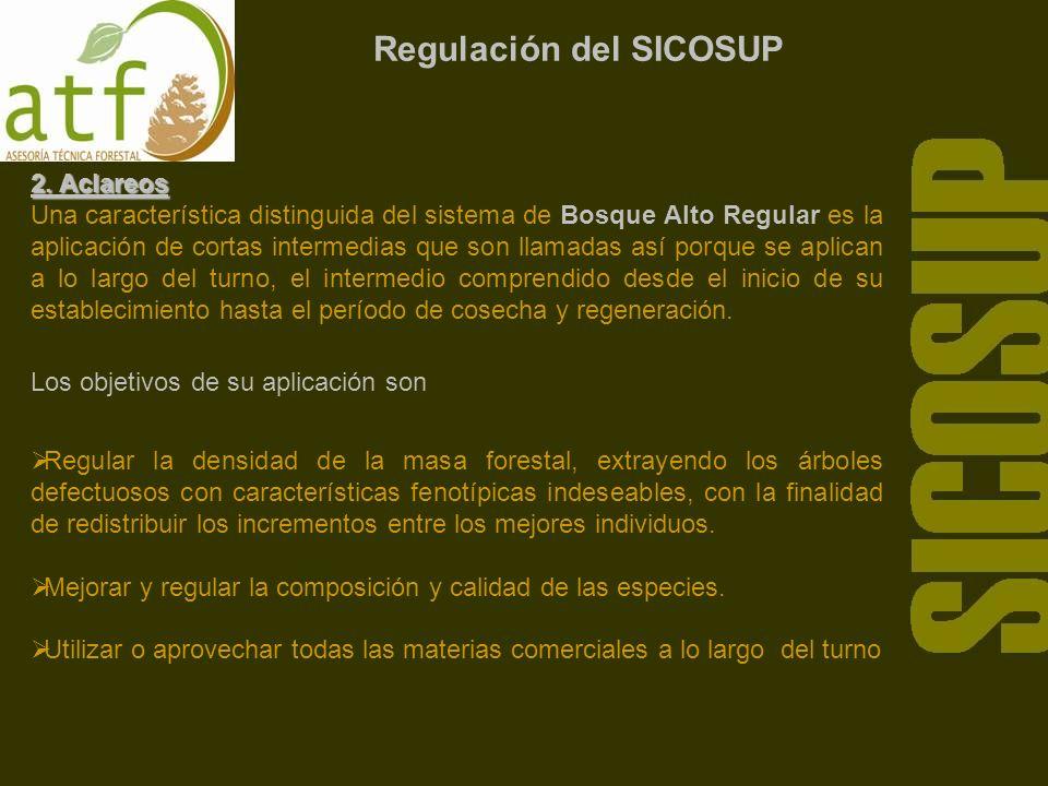 Regulación del SICOSUP 2.