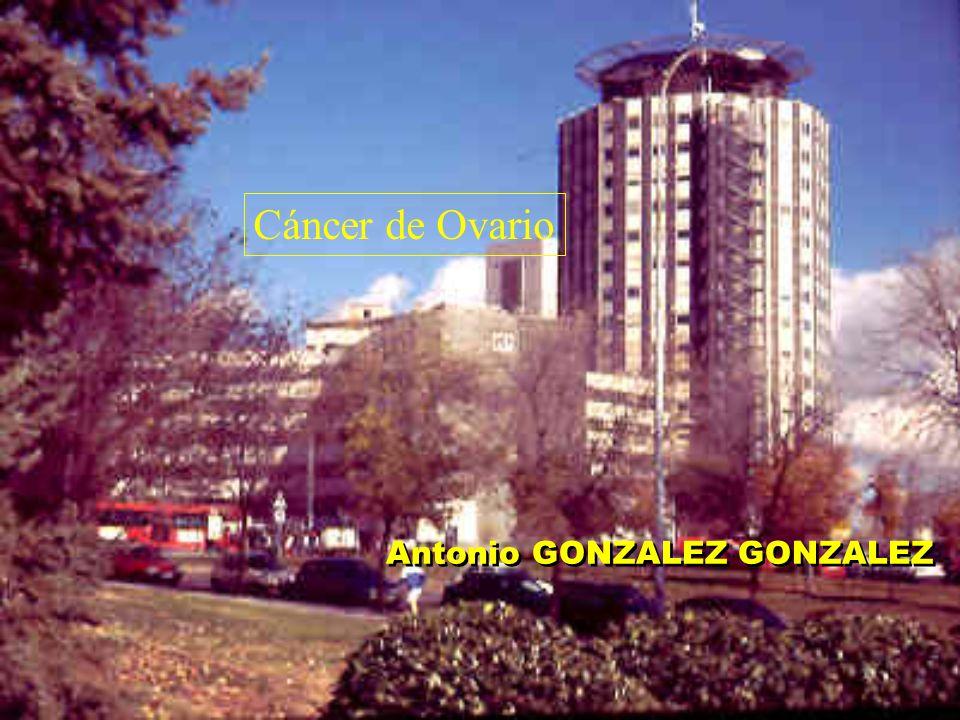 Antonio GONZALEZ GONZALEZ Cáncer de Ovario