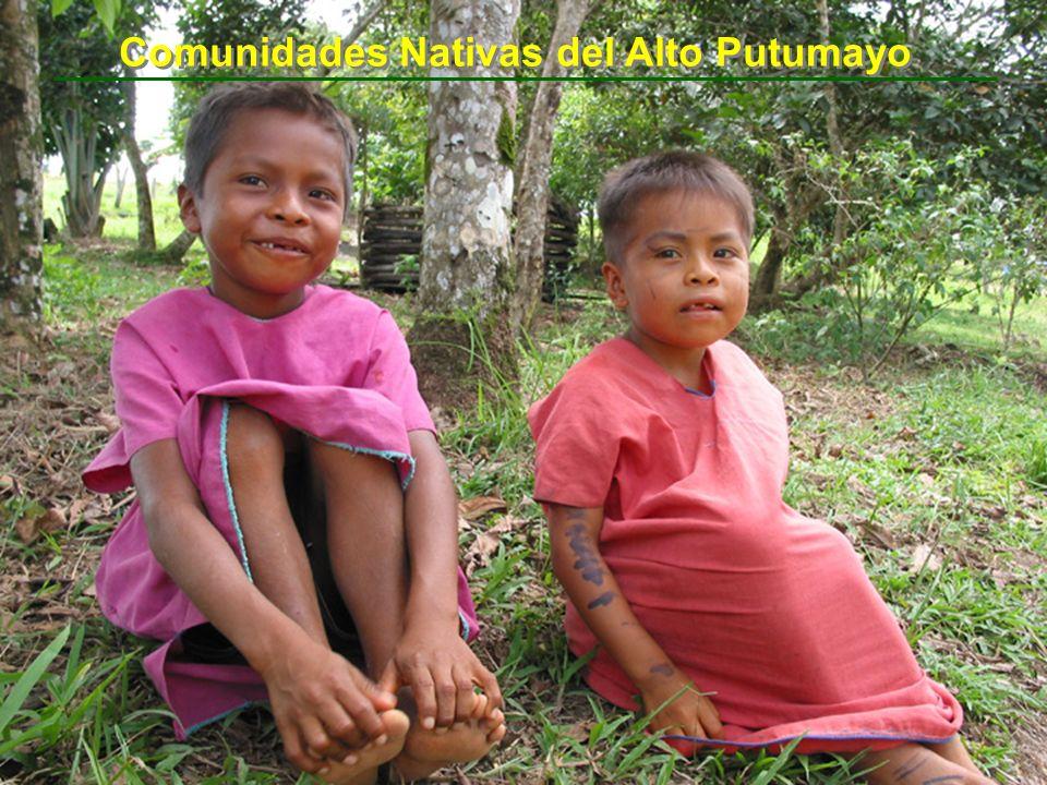 Comunidades Nativas del Alto Putumayo