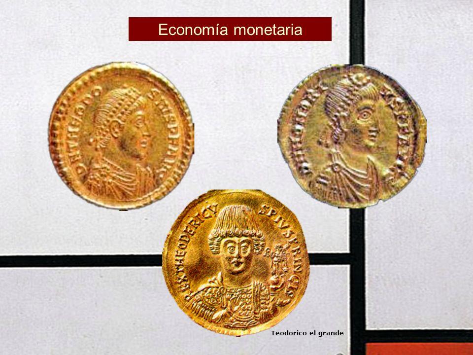 Economía monetaria Teodorico el grande