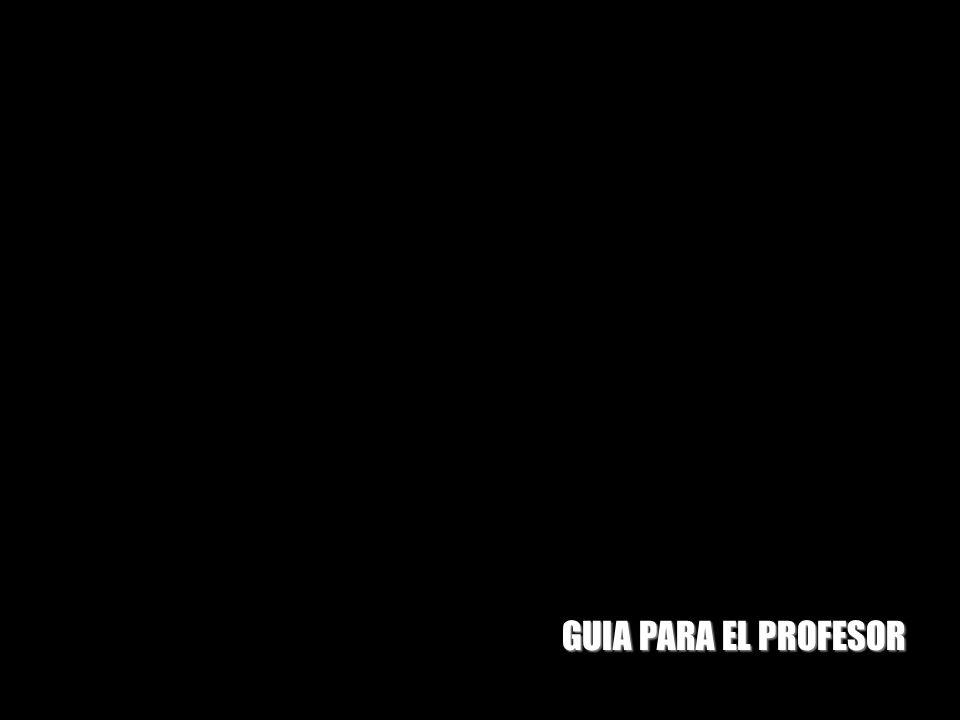 GUIA PARA EL PROFESOR