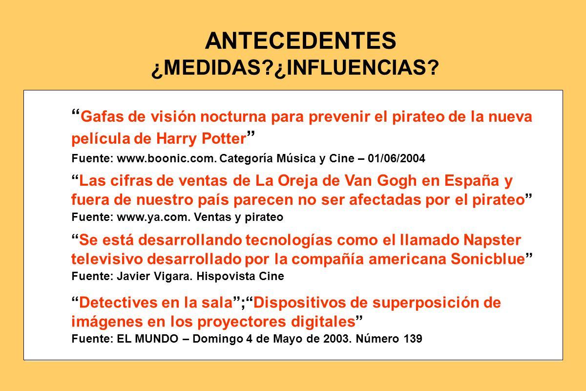Fuente: www.boonic.com. Categoría Música y Cine – 01/06/2004 Gafas de visión nocturna para prevenir el pirateo de la nueva película de Harry Potter Fu