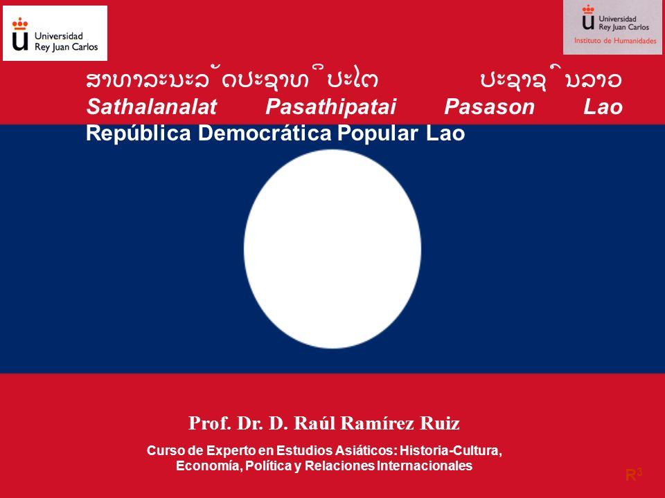 R 3.Curso de Experto en Estudios Asiáticos. Laos SUPERFICIE 236.