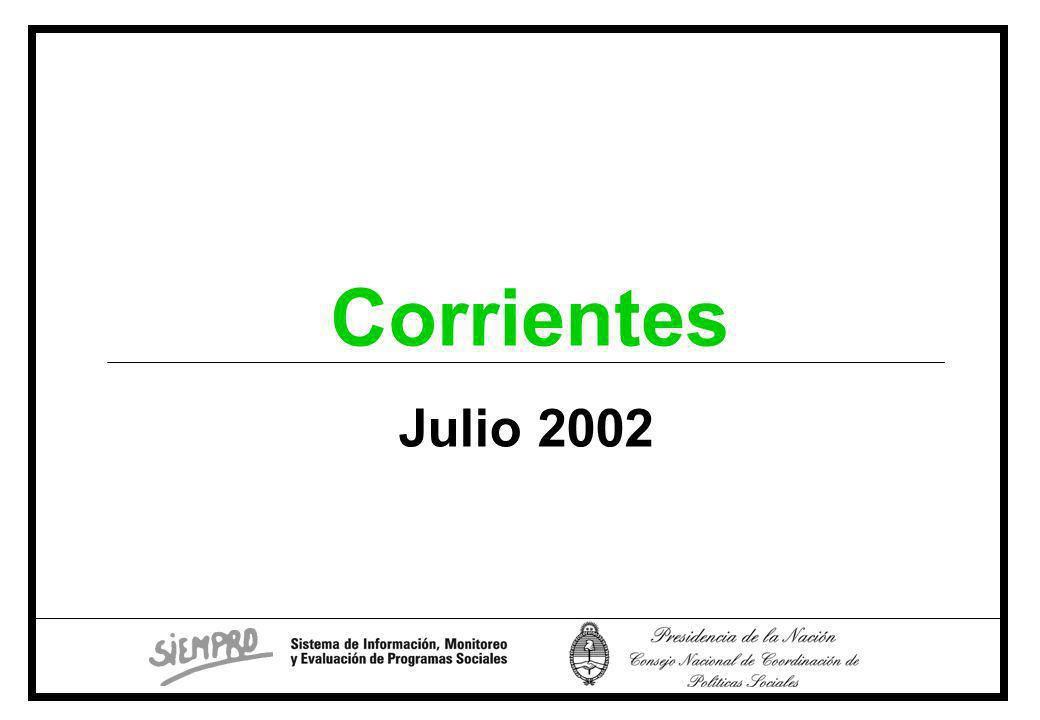 Julio 2002 Corrientes