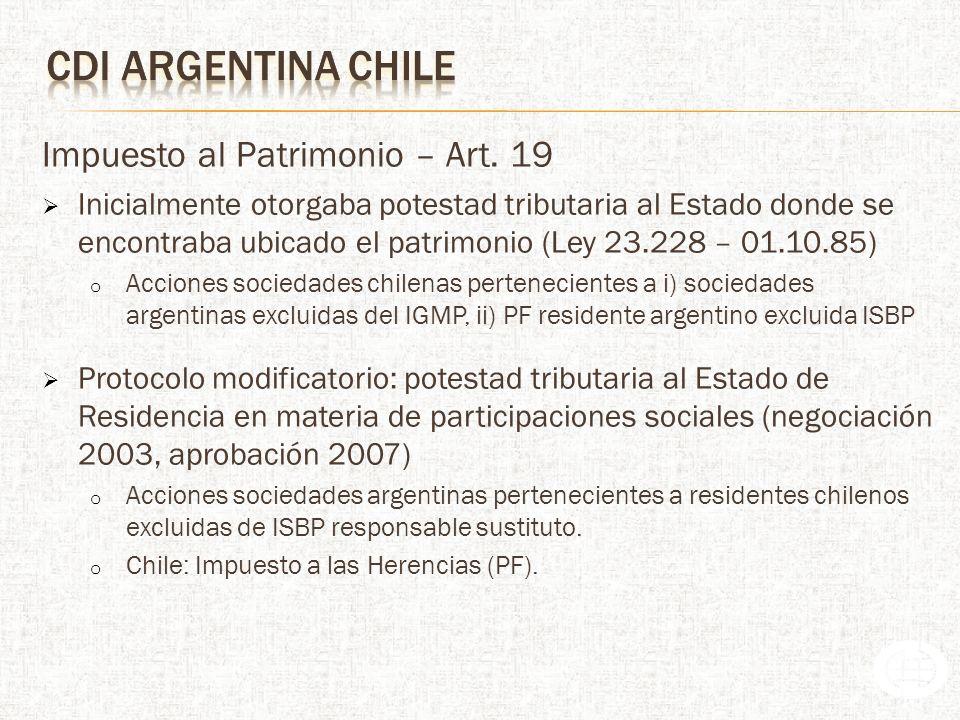 Impuesto al Patrimonio – Art.