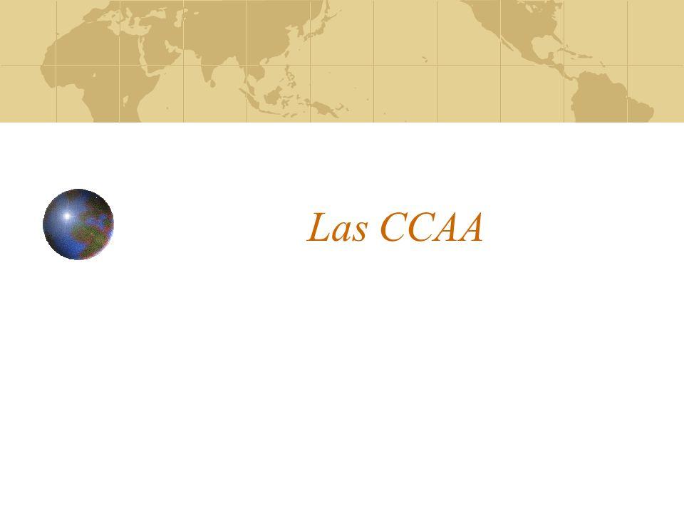 Las CCAA