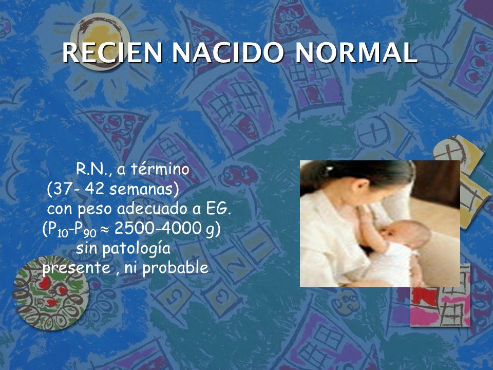 IDENTIFICACIÒN IDENTIFICACIÒN n Pulsera con códigos de identificación + datos –Nombre de la madre, habitación, fecha del parto, sexo del RN.