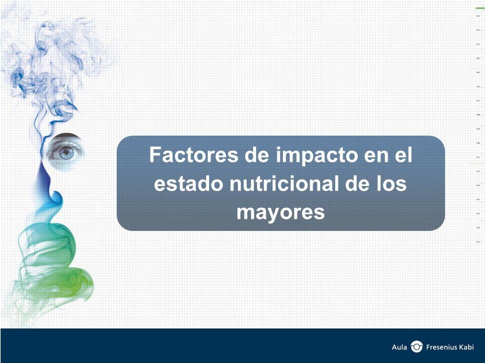 Factores de impacto en el estado nutricional de los mayores