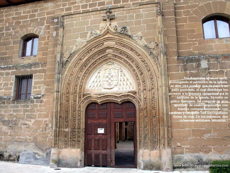 El convento comenzó a construirse el 10 de abril de 1514 por orden de Juan Fernández de Velasco, obispo de la diócesis de Calahorra y diócesis de Palencia, a instancias de su sobrina Isabel de Guzmán y Velasco, tras la concesión realizada por parte del papa Julio II en 1509.