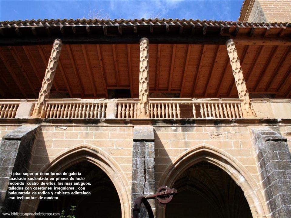 Contrafuertes de descarga de las crujías interiores del claustro