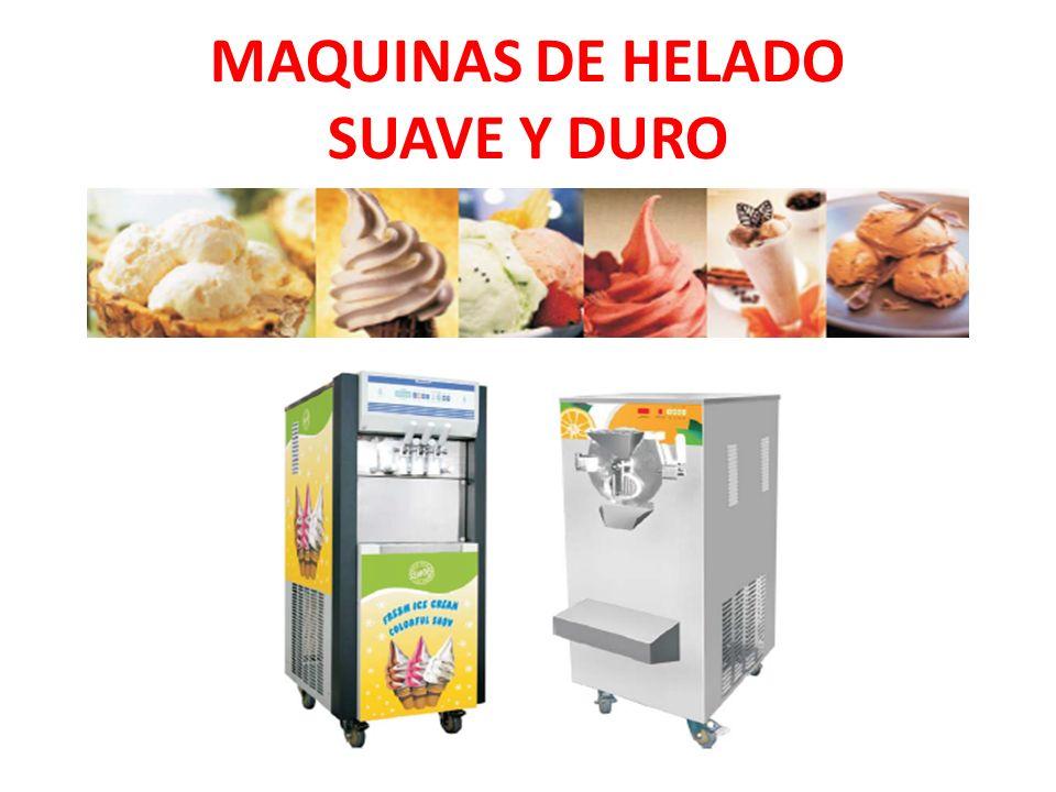 MAQUINAS DE HELADO SUAVE Y DURO