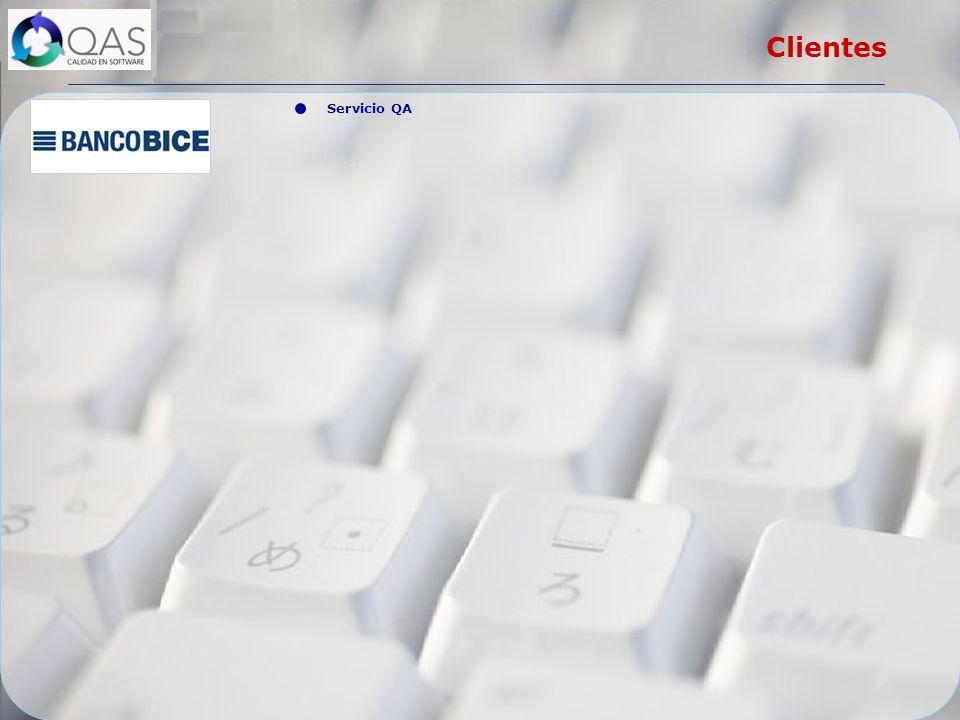 Servicio QA Clientes