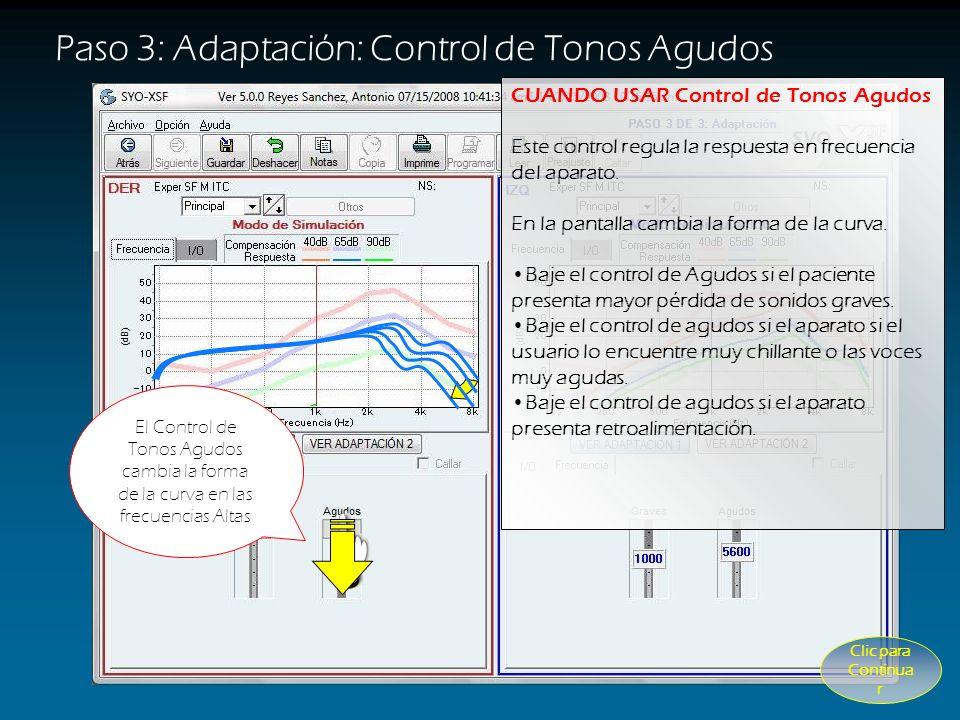 El Control de Tonos Graves cambia la forma de la curva en las frecuencias bajas CUANDO USAR Control de Tonos Graves Este control regula la respuesta e