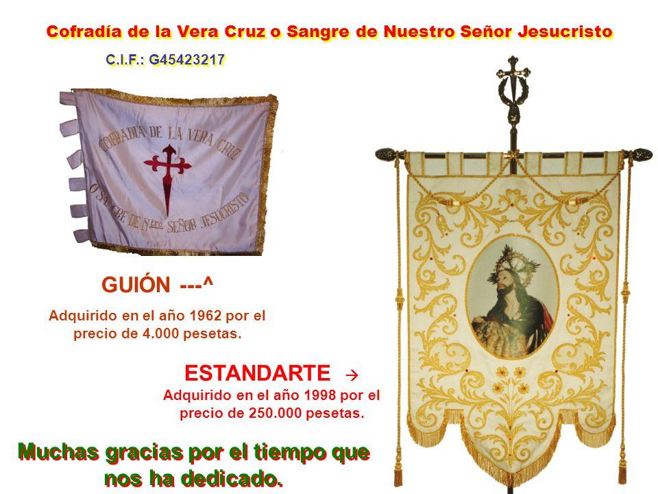 PRESIDENTES DE LA COFRADÍA CARGO CREADO EN 1940 1940 a 1955 = Eusebio Sánchez-Beato de Frías 1956 a 1957 = Valentín Ferrero González 1958 a 1971 = Hil