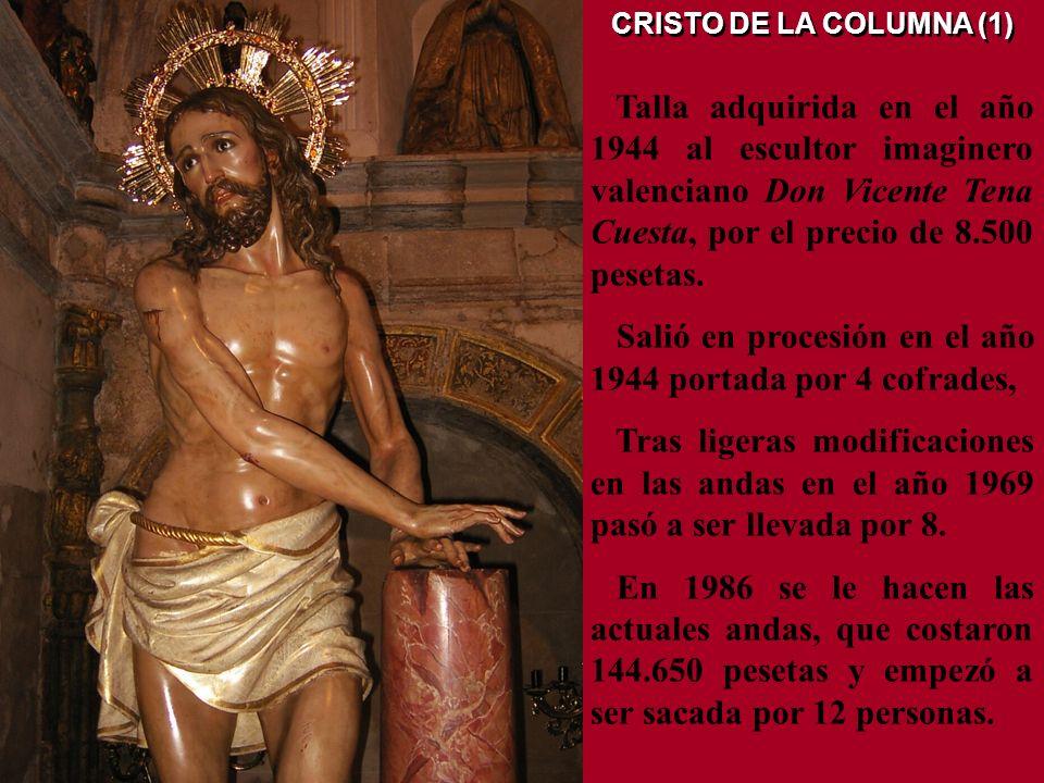 ORACIÓN EN EL HUERTO (2) El año 2005, por el Taller de Arte Religioso Salmerón, de Socuéllamos (C. Real), se le hace una reforma general consistente,