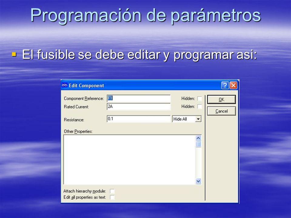 Simulación VSM Salvad el circuito y arrancad la simulación VSM.