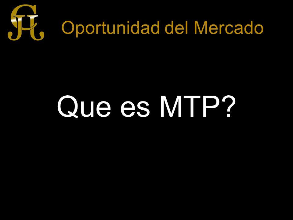 Oportunidad del Mercado Que es MTP.