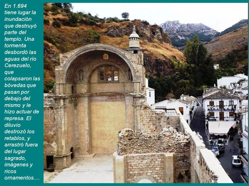 Las Ruinas de Santa María, fue el monumento más importante del Adelantamiento.