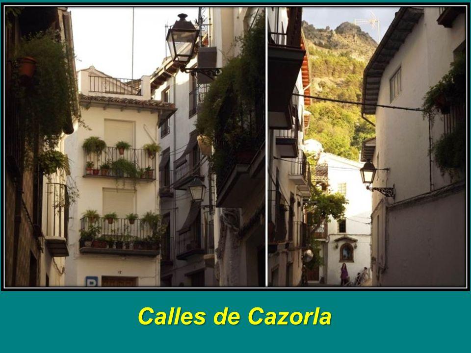 Calles de Cazorla