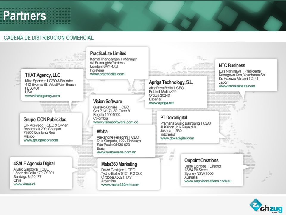 Partners CADENA DE DISTRIBUCION COMERCIAL