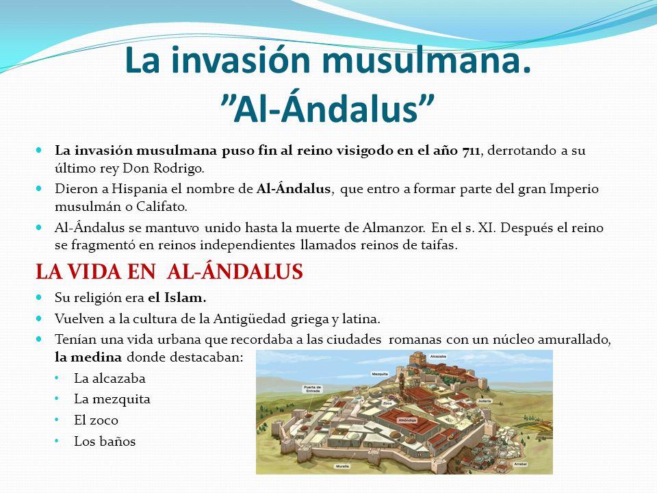 La invasión musulmana.